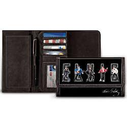 King of Rock 'N' Roll Elvis Presley Leather Wallet