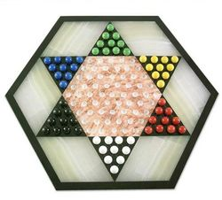Colorful Contrast Chinese Checkers