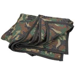 Camouflage Utility Blanket