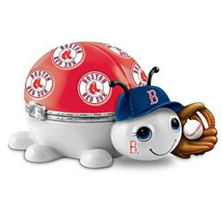 Boston Red Sox Love Bug Porcelain Music Box