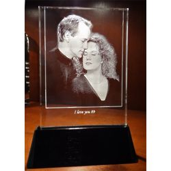 Personalized Lighted Photo Crystal Panel