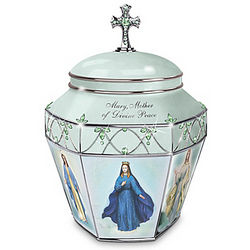 Holy Mary, Mother Of God Musical Prayer Box