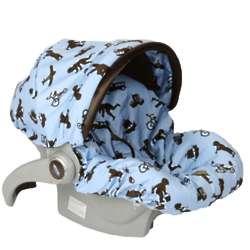 Little Boy Blue Infant Car Seat Cover