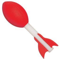 Red Football Rocket