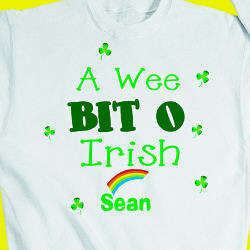 Youth's Wee Bit o Irish Sweatshirt