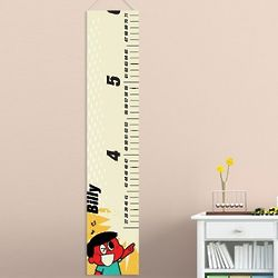Personalized Retro Kid Height Chart