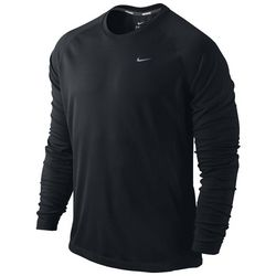 Nike Men's Miler Long Sleeve UV Team Shirt