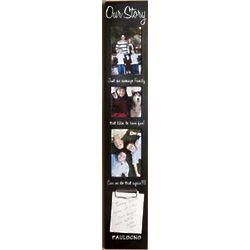 Our Story Personalized Family Photo Frame