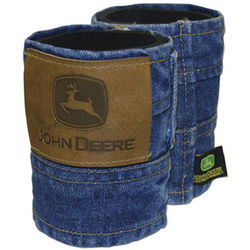 John Deere Denim Koozie Can Kooler