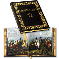 Commanders - History's Greatest Military Leaders Book