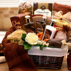 Caramel Indulgence Spa Relaxation Gift Basket