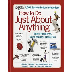 How To Do Just About Anything Hardcover Book