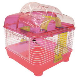 Clear Hamster Cage