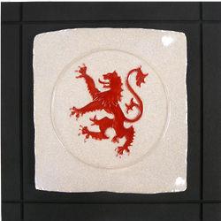Scottish Lion Ceramic Wall Tile