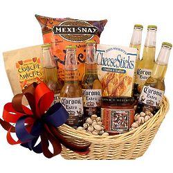 Corona Beer Gift Basket