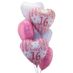 Sweet 16 Balloon Bouquet