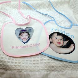 Personalized Baby Photo Bib
