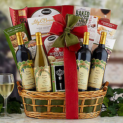 Nickel & Nickel Wine Quartet Gift Basket