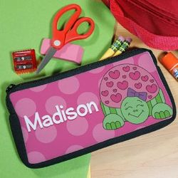 Personalized Turtle Pencil Case