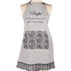 Buffet A French Word For Get It Yourself Apron