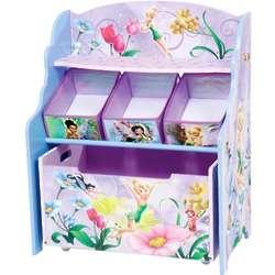 Disney Fairies 3 Tier Toy Box Organizer