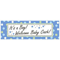 Baby Boy Personalized Banner