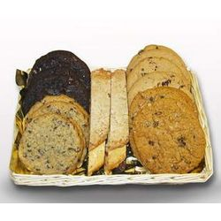 Gourmet Cookie and Biscotti Basket