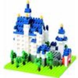 Castle Neuschwanstein Nanoblock Building Set