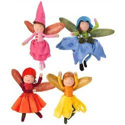 Blooming Mini Fairies Toy Set
