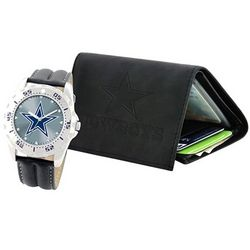 NFL Licensed Watch and Wallet Set