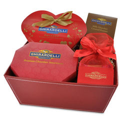 Heart of Hearts Chocolate Gift Basket