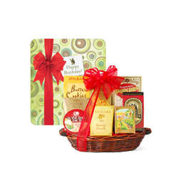 Sweet and Savory Birthday Gift Basket