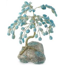 Amazonite Luck Gemstone Tree