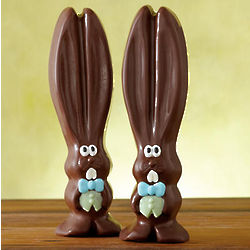 Ears the Dark Chocolate Easter Bunny Duo