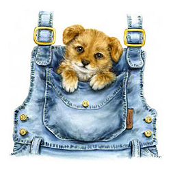 Pocket Puppy T-Shirt