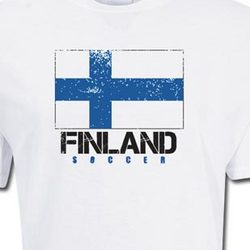 Finland Soccer Pride T-Shirt
