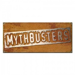 MythBusters Logo Metal Sign