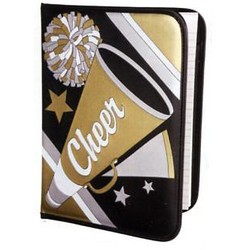 Cheerleading Portfolio / Padfolio and Notepad