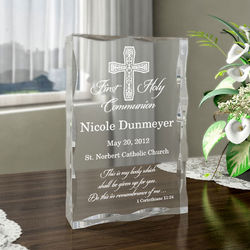 Personalized My First Holy Communion Plaque