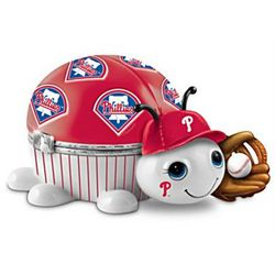 Philadelphia Phillies Love Bug Porcelain Music Box