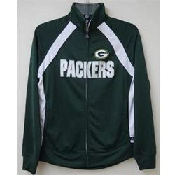 Women's Packers Full Zip Track Jacket