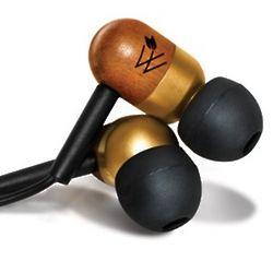 Natural Wood Earphones