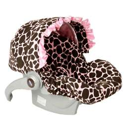 Ginny Giraffe Infant Car Seat Cover