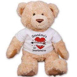 Personalized Lil' Heartbreaker Teddy Bear
