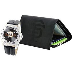 MLB Team Watch and Wallet Set