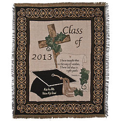 Class Of 2013 Religious Graduation Throw