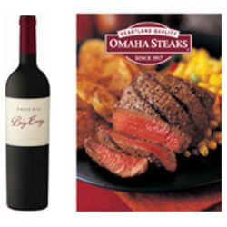 Ernie Els Big Easy Wine and Omaha Steaks Gift Set