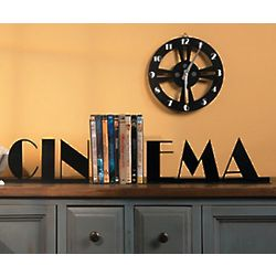 Cinema Metal Bookends