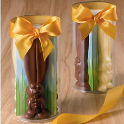 Chocolate Easter Bunnies Gift Boxes