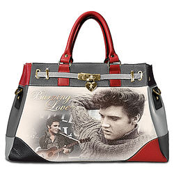 Burning Love Elvis Presley Faux Leather Handbag